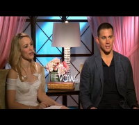 "Rachel McAdams and Channing Tatum on Their ""Drunk"" Scene and Their Romantic Tendencies"