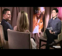 Rachel McAdams and Channing Tatum play and talk 'The Vow' with Andrew Freund