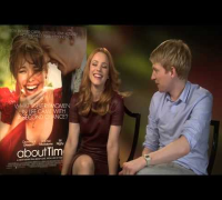 Rachel McAdams And Domhnall Gleeson Interview -- About Time