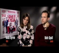 Rafe Spall & Rose Byrne I Give It a Year Interview