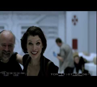 Resident Evil 4 - Afterlife BLOOPERS w Milla Jovovich