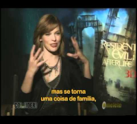 Resident Evil 4: Recomeço - Omelete Entrevista Milla Jovovich