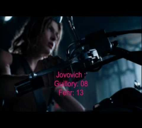 Resident Evil Apocalypse (2004) Milla Jovovich, Sienna Guillory & Oded Fehr Kill Count