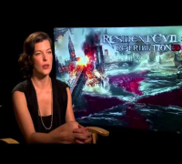 Resident Evil - Interview with Milla Jovovich