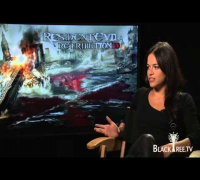 Resident Evil - Michelle Rodriguez Interview