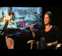 RESIDENT EVIL: RETRIBUTION Exclusive Interview: Michelle Rodriguez