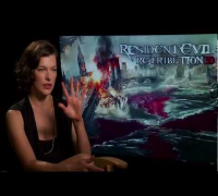 RESIDENT EVIL: RETRIBUTION Exclusive Interview: Milla Jovovich