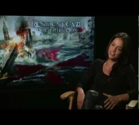 Resident Evil: Retribution - Interview with Michelle Rodriguez and Boris Kodjoe