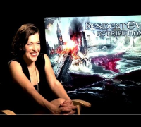 Resident Evil Retribution - Milla Jovovich Interview