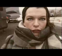 Resident Evil Retribution Milla Jovovich set