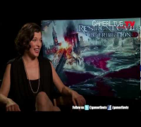 Resident Evil Retribution Milla Jovovich Talks Alice Kicking Movie Butt, Video Games and more
