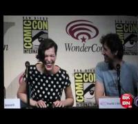 Resident Evil: Retribution Movie WonderCon 2012 Panel With Milla Jovovich & Paul W.S. Anderson