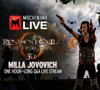 Resident Evil: Retribution Q&A Session with Milla Jovovich
