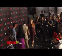 Resident Evil_ Retribution Premiere with Milla Jovovich, Sienna Guillory, Li Bingbing.