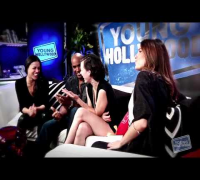 Resident Evil:Retribution Interview Young Hollywood with Michelle Rodriguez,Milla Jovovich & Boris