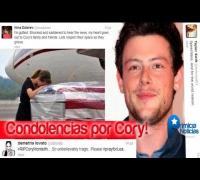 RIP Cory Monteith - Condolencias de Famosos (Miley, Selena, Demi Taylor)