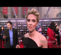 Robert Downey Jr & Scarlett Johansson Red Carpet Interviews  for The Avengers