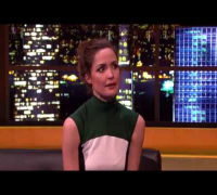Rose Byrne On The Jonathan Ross Show Full Interview (26-1-13).
