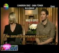 Saba Tümer'den Cameron Diaz'a ilginç soru! - Saba Tümer