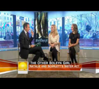 Scarlett Johansson and Natalie Portman on Today Show