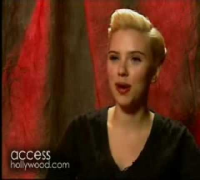 Scarlett Johansson Hasty Pudding 2007 Interview
