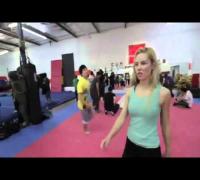 Scarlett Johansson Karate Lessons ( 18) [HD]
