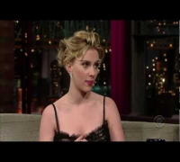 Scarlett Johansson - Late Night with David Letterman (2006)