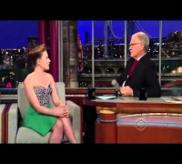 Scarlett Johansson on David Letterman Dec 12 2011