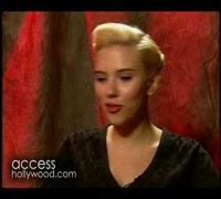 Scarlett Johansson on steamy Timberlake video