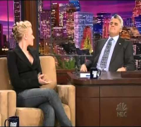 Scarlett Johansson on Tonight Show Leno (01/11/2005) Part 1