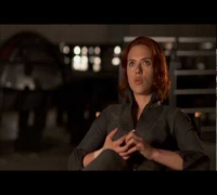"Scarlett Johansson Talks ""Black Widow"" In 'The Avengers'"