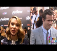 Scarlett Johansson Talks Marriage to Ryan Reynolds!