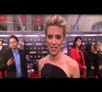 Scarlett Johansson Talks Ryan Reynolds Divorce