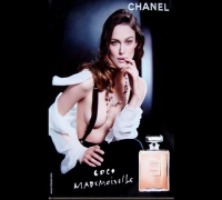 Seductive Keira Knightley Shooting Her Chanel Commercial TOPLESS!
