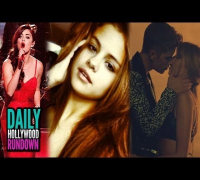 Selena Gomez Jealous of Justin's Music Video Kiss? Lucy Hale CMA Christmas Performance (VIDEO)!