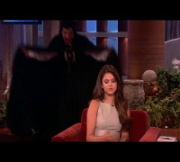 Selena Gomez Scared Again on The Ellen Show