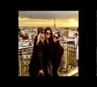 Selena Gomez,Vanessa Hudgens and Spring Breakers Girls in Paris February 2013