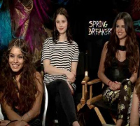Selena Gomez, Vanessa Hudgens, Ashley Benson and Rachel Korine Talk 'Spring Breakers'