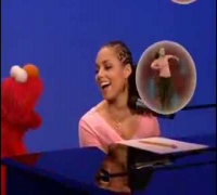 Sesame Street - Elmo and Alicia Keys