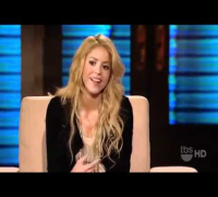 Shakira Interview on Lopez Tonight