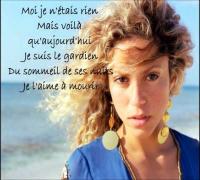 Shakira - Je l'aime à mourir avec les paroles