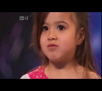 Shakira little  - Britains Got Talent