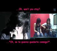 Sleeping With Sirens - If I'm James Dean, You're Audrey Hepburn (Acoustic - Sub Español - Lyrics)