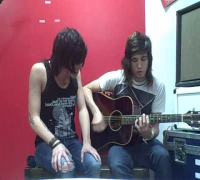 Sleeping With Sirens If Im James Dean You're Audrey Hepburn acoustic Video