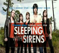 Sleeping With Sirens   If i'm james dean you're audrey hepburn Karaoke