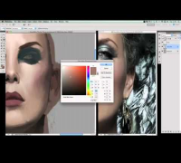 Snow White - Charlize Theron Digital Painting Part 2