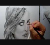 Speed Drawing Of Natalie Portman