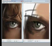 Speed painting - Milla Jovovich