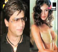 SRK with Bond Girl Olga Kurylenko BIGGEST MOVIE STAR MY NAME IS KHAN TWITTER IAMSRK