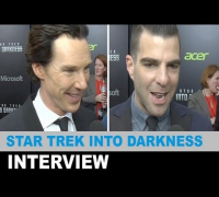 Star Trek Into Darkness Interview 2013 - Benedict Cumberbatch, Zachary Quinto : Beyond The Trailer